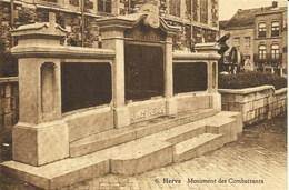 HERVE - Monument Des Combattants - N'a Pas Circulé - Edit. Mathot à Herve - Herve