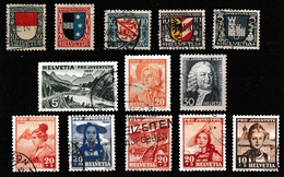 Schweiz Lot Vor 1945, Gestempelt  (siehe Foto) - Stamps