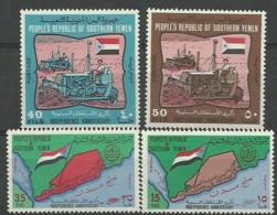 Yemen 1969 Mint Stamps MNH (**) Original Gum - Jemen