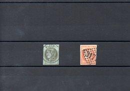 FRANCE N°39/48 - 1870 Bordeaux Printing