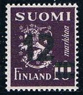 Finland 275 MNH Surcharged 1948  CV 1.25 (F0081)+ - Finland