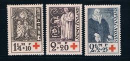Finland B12-14 MLH Set Finnish Red Cross 1933  CV 5.50 (F0096)+ - Finland