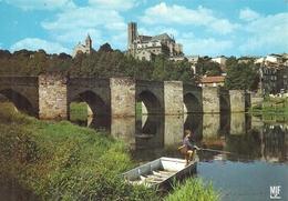 HAUTE VIENNE - 87 - LIMOGES -CPSM GF Couleur - Pont St Etienne - Limoges