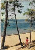 33] Gironde > Arcachon Le Bassin La Plage Animation  1961 - Arcachon
