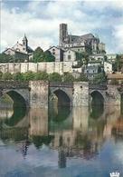 HAUTE VIENNE - 87 - LIMOGES -CPSM GF Couleur - L'abbesaile Et Le Pont St Etienne - Limoges