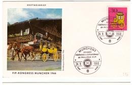 Bund - FDC, 1966, Nr. 516 - BRD