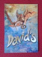 POSTAL POST CARD CARTE POSTALE PUBLICITARIA PUBLICIDAD ADVERTISING IBIZA BALEARIC ISLANDS DAVID'S ÁNGELES ANGELS ANGES - Publicidad