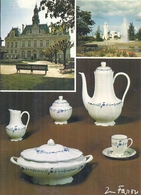 HAUTE VIENNE - 87 - LIMOGES -CPSM GF Couleur - Multivues Dont Porcelaine - Limoges