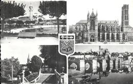 HAUTE VIENNE - 87 - LIMOGES -CPSM PF NB - Multivues - Limoges