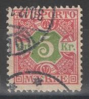 Danemark - Journaux - YT 9 Oblitéré - 1907 - Danemark