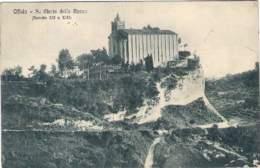 """1937- Cartolina Illustrata""""Offida-Santa Maria Della Rocca""""viaggiata - Ascoli Piceno"""