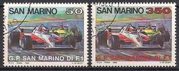 San Marino  (1983)  Mi.Nr.  1282 +1283  Gest. / Used  (1ag09) - San Marino