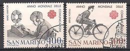 San Marino  (1983)  Mi.Nr.  1280 + 1281  Gest. / Used  (1ag10) - San Marino