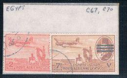 Egypt C67- Used Partial Set Scott Nums Shown 1953 (E0066) - Egypt