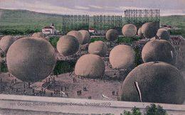 Zürich- Schlieren 1909, Gordon Benett Wettfliegen (4.10.1909) - Montgolfières