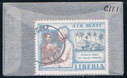 Liberia C111 Used Nurses 1957 (L0627) - Liberia