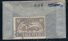 Liberia O114 Used Providence Island 1921 (L0667) - Liberia