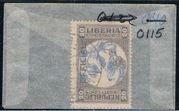 Liberia O115 Used Pepper Plant 1921 (L0668) - Liberia