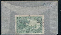 Liberia O116 Used Cape Mesurado 1921 (L0669) - Liberia