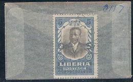 Liberia O117 Used President Howard 1921 (L0670) - Liberia