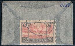 Liberia O121 Used Village Scenece 1921 (L0674) - Liberia