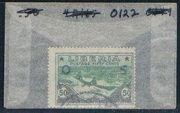 Liberia O122 Used Kruman In Dugout 1921 (L0675) - Liberia