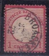 Allemagne, Empire - Yvert N° 16 Oblitéré - Deutschland