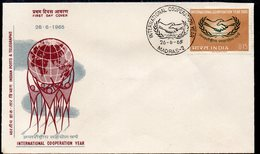 INDIA, 1965 ICY FDC - Covers & Documents