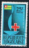 Togo 452 Used Centenary Emblem (BP1159) - Togo (1960-...)