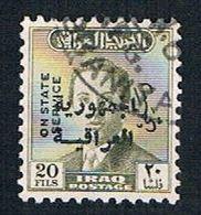 Iraq O185 Used King Faisal II Overprint (BP8126) - Iraq