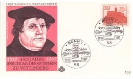Bund - FDC, 1967, Nr. 544 - Christianity