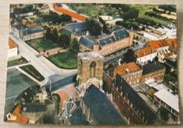 Templeuve Hôtel De Ville Vue Aérienne - Tournai