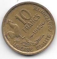 France 10 Francs 1950  Km 915.1  Xf - France