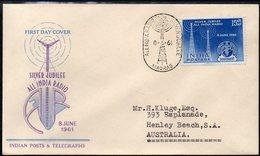 INDIA, 1961 ALL INDIA RADIO FDC - India