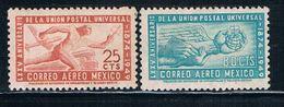 Mexico C203-04 MLH Set 75th Anniversary Of The UPU (M0186) - Mexico