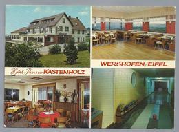 DE.- WERSHOFEN / EIFEL. Hotel Pension KASTENHOLZ. Ongelopen. - Hotel's & Restaurants
