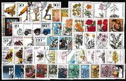BRD Lot Sondermarken Mit Zuschlag, Gestempelt (siehe Foto) - Stamps