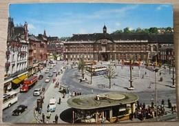 Liège Place St Lambert Vue Aérienne. Carnières Auto Bus Camion - Luik