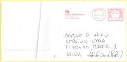 ITALIA - ITALY - ITALIE - 2002 - 00,41€ EMA, Red Cancel - Regione Emilia Romagna - Viaggiata Da Bologna Per Lugo - Affrancature Meccaniche Rosse (EMA)