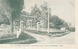 Manoir Leclerc, Leclercville, Cte. Lotbiniere, Quebec - Quebec
