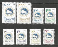 Tajikistan 1994 Year, Mint Stamps MNH (**) Mi. # 34-41 - Tadschikistan