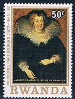 Rwanda 821 MNH Painting Marie De Medicis (R0324)+ - Rwanda