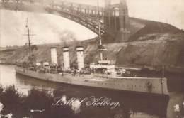 "S.M.S. ""Kolberg""  Marine Schiffspost 1915 - Warships"