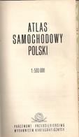 POLOGNE (ATLAS SAMOCHODOWY POLSKI)  - PANSTWOWE PRZDSIEBIORSTWO WYDAWNICTW KARTOGRAFICZNYCH - Culture