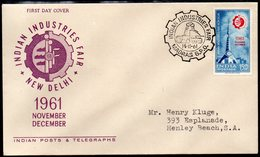 INDIA, 1961 INDUSTRIES FAIR FDC - Covers & Documents