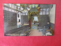 Interior Of Drug Store China Town    California > San Francisco      Ref 3165 - San Francisco