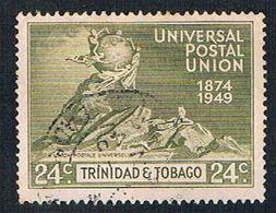 Trinidad And Tobago 69 Used UPU Globe 1949 (BP2651) - Trinidad & Tobago (...-1961)