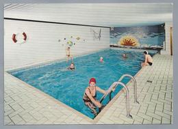 DE.- HASENFELD / EIFEL. Pension HAUS DIEFENBACH. Hallenschwimmbad. W. Schroeder. Ongelopen. - Hotel's & Restaurants