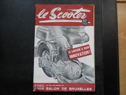 Le Scooter ,Salon De Bruxelles 1953 - Auto/Motorrad