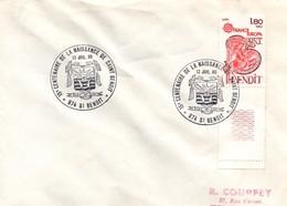 Saint-Benoît Réunion 1980 - BT - Lettre - Blason écusson Saint-benoït - Réunion (1852-1975)